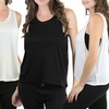 Women's Rayon Tank with Deep Armholes