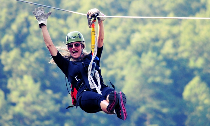 Lake Lanier Canopy Tours - Buford: $57 for $100 Worth of Zipline Tours from Lake Lanier Canopy Tours