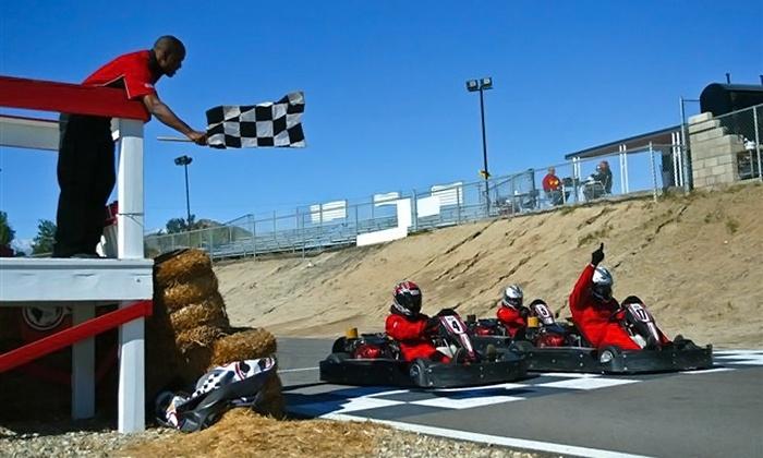 Adams Motorsports Park - Riverside: $25 for 20-Minute EnduranceGo-Kart Race at Adams Motorsports Park ($50 Value)