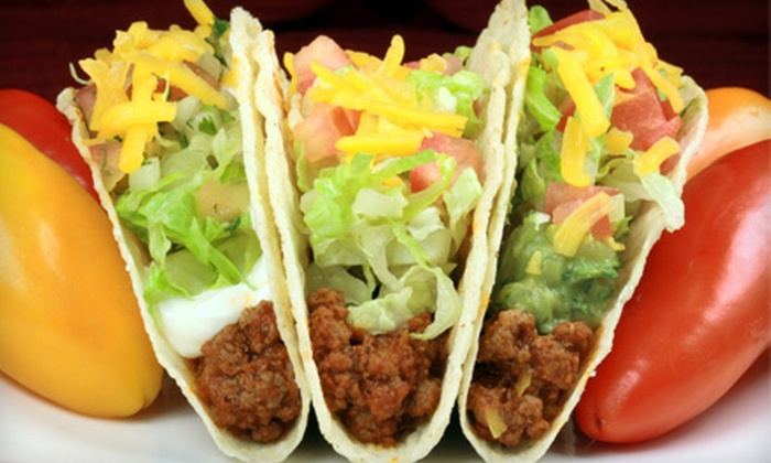 Dos Amigos - Springdale: Mexican Fare at Dos Amigos (Up to 52% Off). Two Options Available.