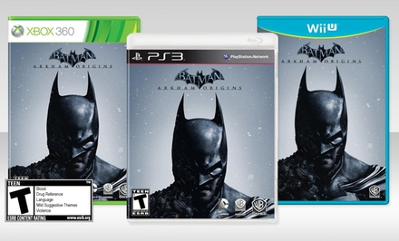 Batman: Arkham Origins for Xbox 360, PS3, or Wii U. Free Returns.