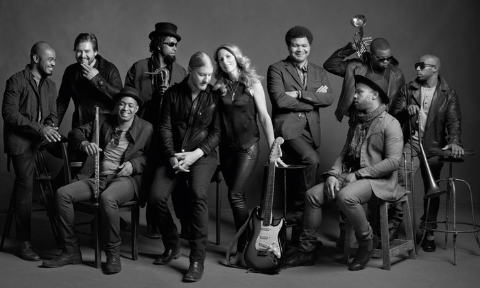 Tedeschi Trucks Band and Gregg Allman - Maine State Pier: Tedeschi Trucks Band and Gregg Allman – Two Concerts for the Price of One (Up to 49% Off)