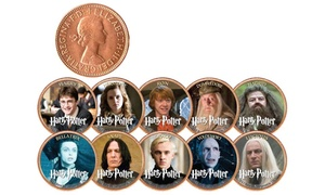 Harry Potter Heroes and Villains UK Legal Tender Coins (10-Piece)