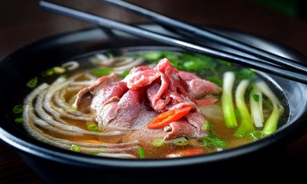 Vietnamese Street Food for Dine-In or Carry Out at Pho District (Up to 43% Off)