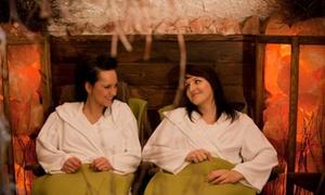 Ośrodek Rekreacyjny Leśna Polana: Sauna, balia japońska, chata solna i więcej: pobyt w wiosce spa dla 2 osób za 64,99 zł i więcej w ośrodku Leśna Polana