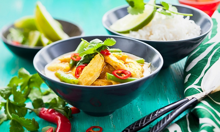 Mango Thai - Stockport: Thai Meal for Two or Four at Mango Thai (Up to 58% Off)