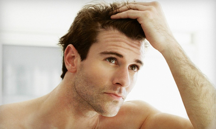 Vincent Hair Institute - Cottonwood Heights: $99 for a Laser Hair-Restoration Package with 13 Treatments at Vincent Hair Institute ($695 Value)