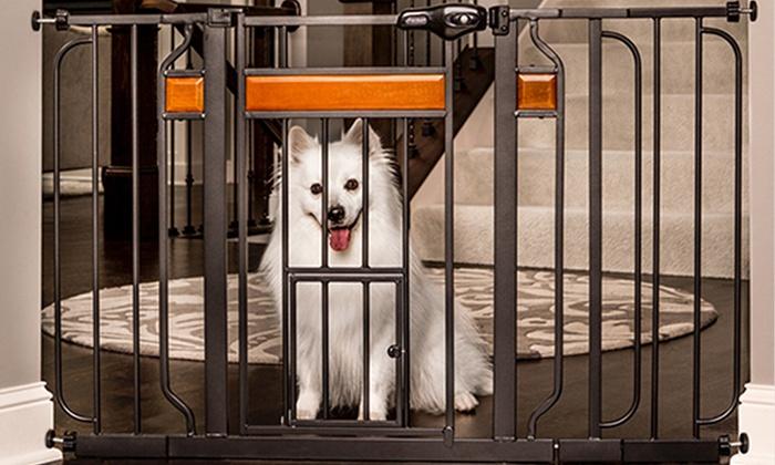 Walk Through Pet Gate Groupon Goods