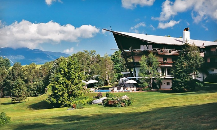 Stowehof Inn & Resort - Stowe, VT: Two-Night Stay with Three-Course Dinner at Stowehof Inn & Resort in Stowe, VT