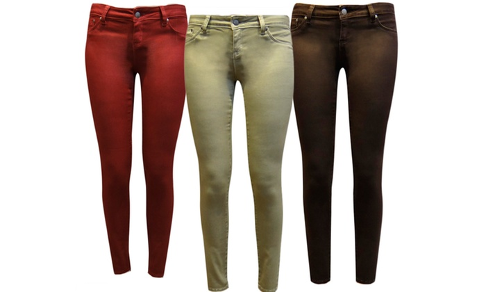 Tractr Women's Jeggings: Tractr Women's Jeggings. Multiple Styles and Colors Available. Free Returns.