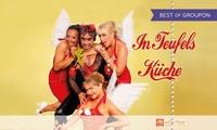"""Dinnershow """"In Teufels Küche"""" für 1 od. 2 Personen am 29.01., 17.02., 17.03. und 16.04.17 im """"wilden Oskar"""" (37% sparen)"""