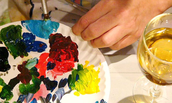 Paint and Pour - Multiple Locations: $19.99 for Two-Hour Painting Class for One at Any Paint and Pour Location, Sunday–Thursday ($35 Value)