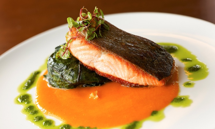 bin on the lake - Lakeview: $30 for $60 Worth of Gourmet Dinner Fare at bin on the lake