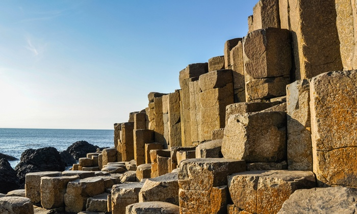 Ulster Tours - Belfast: Giant's Causeway Bus Tour for One or Two with Ulster Tours (50% Off)