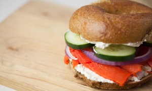 New York Bagel Cafe & Deli: Lunch, Breakfast, and Bagel Bags at NY Bagel Cafe and Deli (Up to 39% Off)