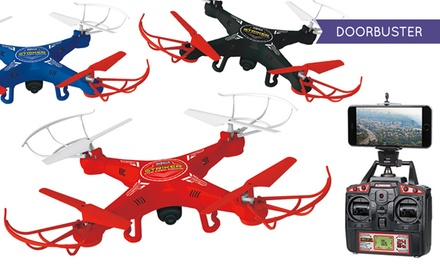 Striker Remote-Controlled Spy Drone with Optional Live-View Feature