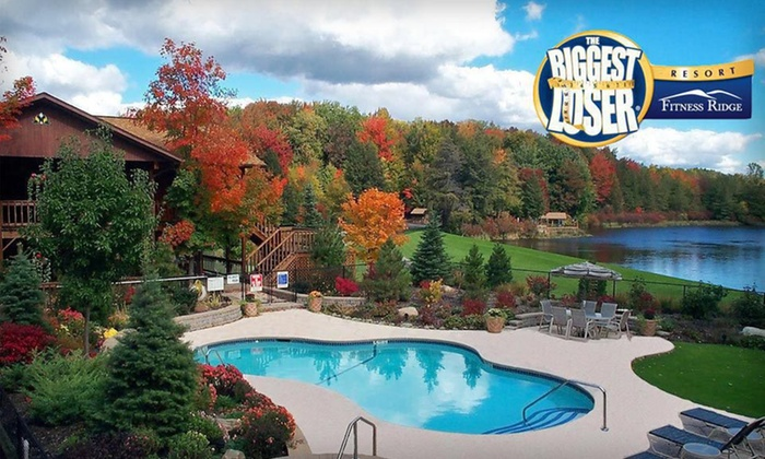 Biggest Loser Fitness Resort - Niagara NY - Java, NY: One-Week Structured Fitness and Weight-Loss Program with Accommodations at The Biggest Loser Resort Niagara