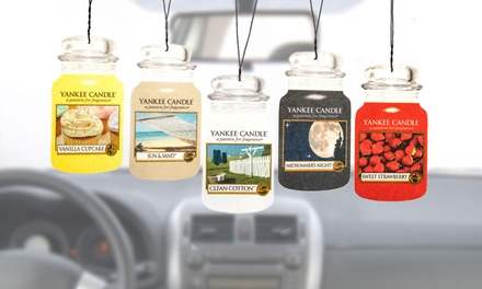12 Assorted Yankee Candle Car Air Fresheners