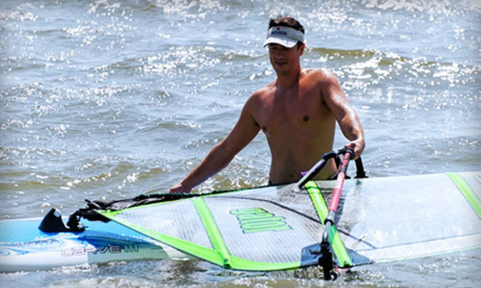 Extreme Windsurfing - Extreme Windsurfing: Standup Paddleboarding or Windsurfing for Two or Four from Extreme Windsurfing in West Atlantic City (Up to 69% Off)