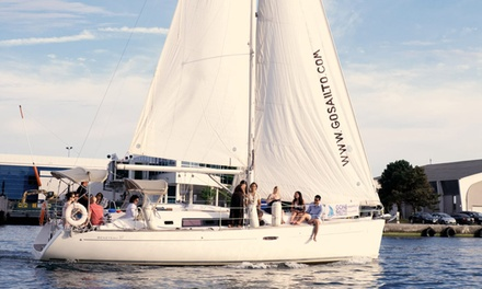 $55 for a Three-Hour Intro to Sailing Adventure from Gone Sailing Adventures ($110 Value)
