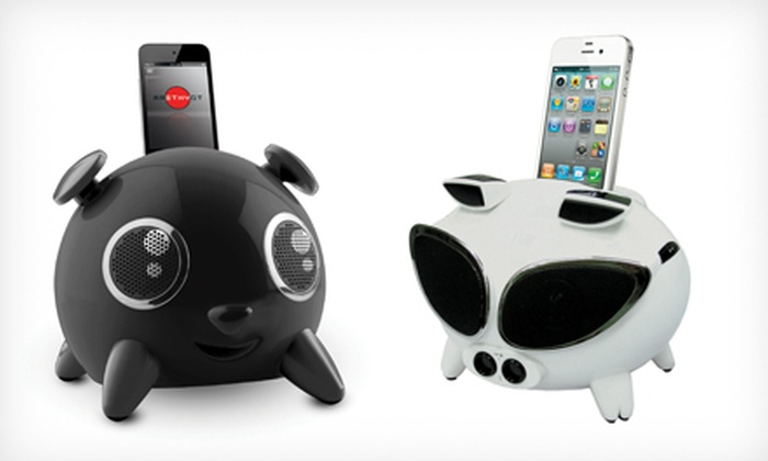 iPup and iPig Apple Speaker Docks: $39 for iPup and iPig Apple Speaker Dock ($99.99 List Price). Multiple Styles and Colors Available.