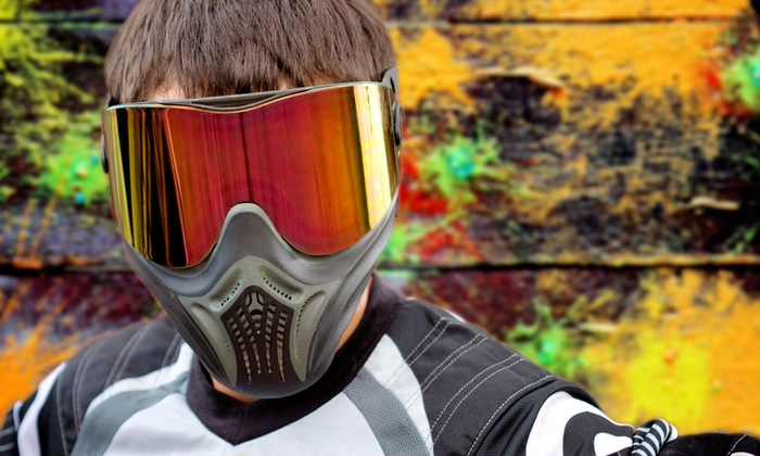 All Star Paintball Arena - Spotswood: All-Day Paintball Package for Two, Four, or Eight at All Star Paintball Arena (Up to 62% Off)