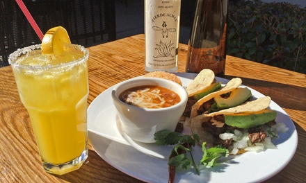 Mexican Food and Tequila for Two or Four at Mezcalero Mexican Grill (Up to 48% Off)