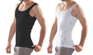 Men's Compression & Body-Support Undershirt at Men's Compression & Body-Support Undershirt, plus 9.0% Cash Back from Ebates.