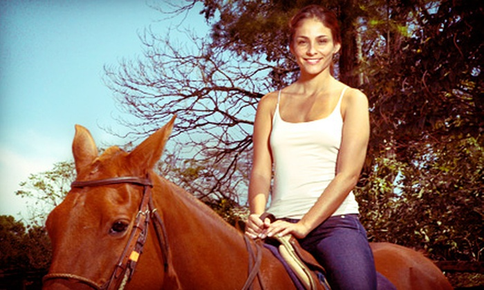 Happy Trailz Ranch - Murrieta: Trail Ride and Wine Tasting for One, Two, or Four from Happy Trailz Ranch (Up to Half Off)