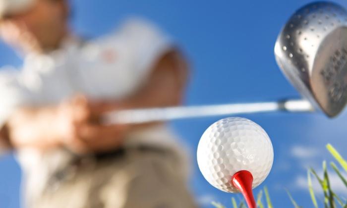 Pine Hills Golf Club - Penticton: Nine-Hole Round of Golf for Two or Four at Pine Hills Golf Club in Penticton (Up to 45% Off)