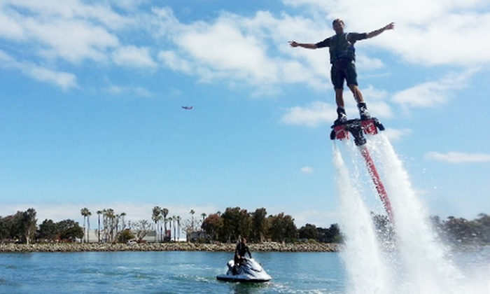 Aquatic Aviation - H&M Landing: 40-Minute Flyboard Flight Experience for One or Two at Aquatic Aviation (Up to 40% Off)