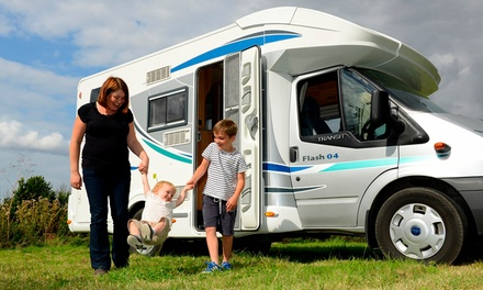 Various UK Locations: 3- or 7-Night Campervan Hire for Up to 7...