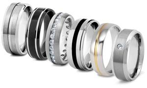 Men's Titanium Comfort Fit Bands