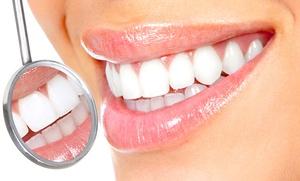 Limpieza bucal con ultrasonidos por 12,95 € y con 1, 2, 4 o 6 empastes de composite desde 19,95 €