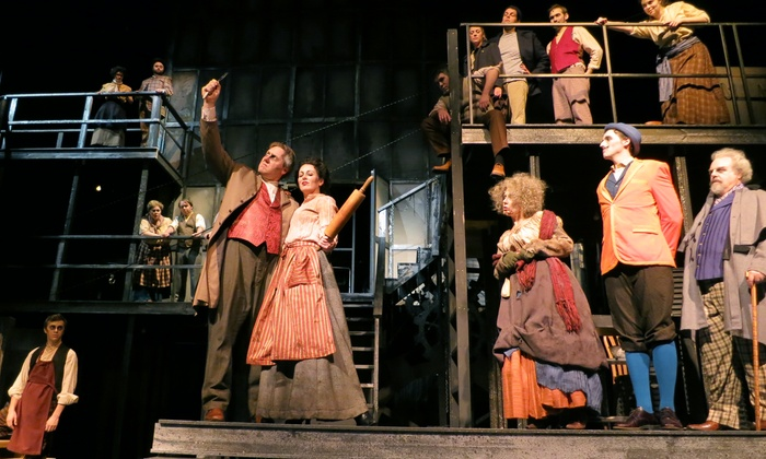 """Sweeney Todd: The Demon Barber of Fleet Street"" - Raue Center for the Arts: ""Sweeney Todd: The Demon Barber of Fleet Street"" at Raue Center for the Arts on October 31 at 8 p.m. (Up to 64% Off)"