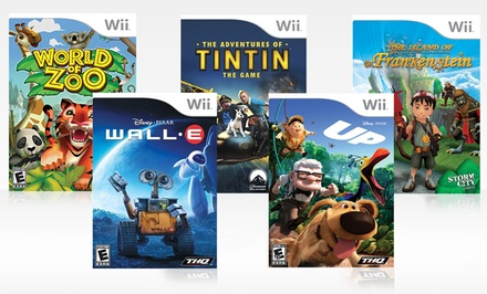 Kids' 5-Game Bundle for Wii. Free Returns.