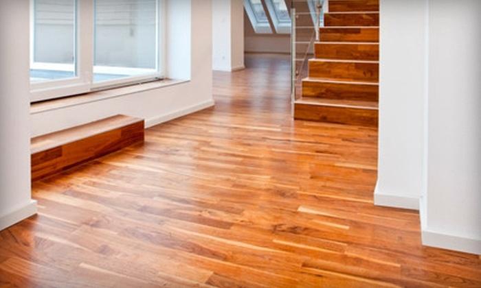 Oxy Green Hardwood Floor Cleaning - Glen Allen: $59 for Hardwood-Floor Cleaning for Two Rooms and a Hallway from Oxy Green Hardwood Floor Cleaning ($149 Value)