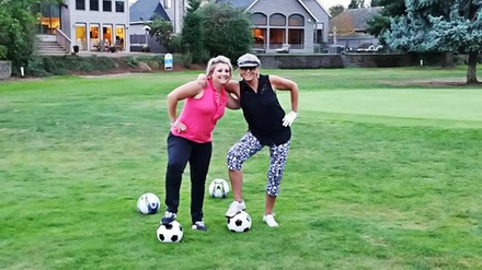 18-Hole Round of FootGolf for Two or Four with Option for Cart at McNary Golf Club (Up to 55% Off)