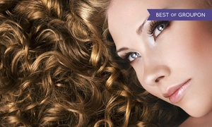 Sybil Salon & Spa: Haircut Package with Style and Optional Partial or Full Highlights at Sybil Salon & Spa (Up to 54% Off)
