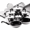 17-Piece Farberware Classic Series Stainless-Steel Cookware Set