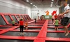 Xtreme Trampolines - Multiple Locations: Two Hours of Trampoline Sports and Play for Two or Four on Weekdays or Weekends at Xtreme Trampolines (Up to 55% Off)