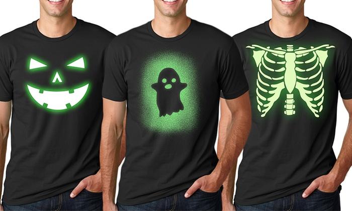 glow in the dark halloween costume t shirts