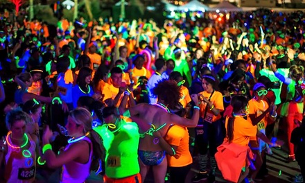 Entry in 5K Glow Run for One or Two from Luminate 5K on Saturday, October 11 (Up to 50% Off)
