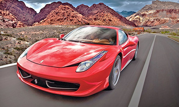 World Class Driving - Paradise: $399 for a Red Rock Canyon Tour Exotic-Car Driving Experience for Two from World Class Driving ($729 Value)