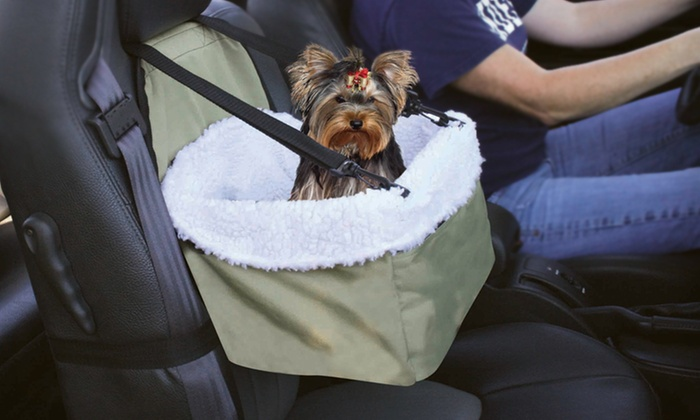 Pet Booster Seat: $12 for a Pet Booster Seat ($60 List Price)