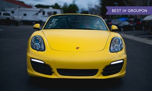 Club Sportiva: Luxury Car Rentals or an Exotic Car Sprint from Club Sportiva (Up to 40% Off). Four Options Available.
