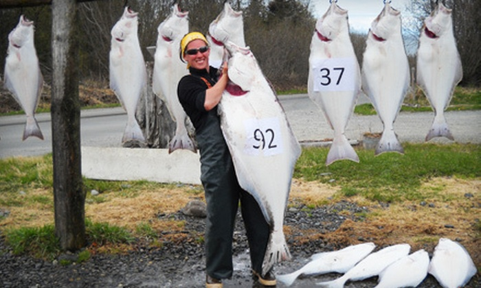 Discover Alaskan Adventures - Ninilchik: $285 for a Full-Day Halibut Fishing Charter for Two from Discover Alaskan Adventures ($570 Value)