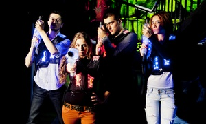 Up to 41% Off Two Games of Laser Tag at Lazerland at Lazerland, plus 6.0% Cash Back from Ebates.