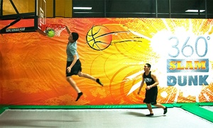 Rockin' Jump: One Hour of Trampoline Time for Two, Four, or Six at Rockin' Jump (Up to 50% Off)