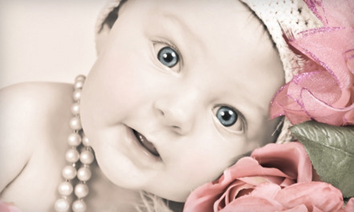 """Cooksey Photo - Vernon: $39 for Photo Package with Children's Studio Session and 5""""x7"""" Custom Tinted Print at Cooksey Photo ($127 Value)"""